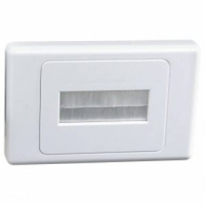 Digitek Flat Media Wall Plate