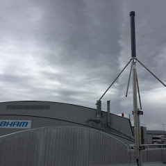 Cobham Aviation - VHF Antenna system installed for radio comms to aircraft